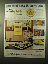 1960 American Gas Association Tappan Gas Ranges Ad