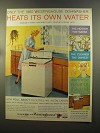 1959 Westinghouse Roll About Dishwasher Ad