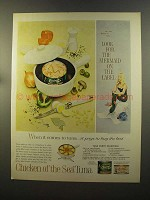 1959 Chicken of the Sea Tuna Ad - The Mermaid