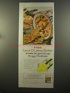 1959 Land O' Lakes Butter Ad - Bake 'Em for Christmas