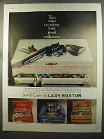 1959 Lady Buxton Jewel Cases Ad - Two Ways to Protect