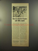 1959 Phoenix Mutual Ad - How We Retired in 15 Years
