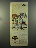 1958 Mirro Aluminum Cookware Ad - To Be Sure