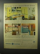 1958 General Electric Country Fair Kitchen Ad