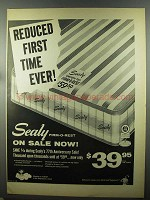 1958 Sealy Firm-O-Rest Mattress Ad - Reduced