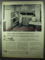 1958 Mobile Homes Manufacturers Assocation  Ad