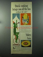 1958 Green Giant Niblets Corn Ad - Quick-Cooking