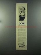 1958 Tampax Tampons Ad - You Never Had it So Cool