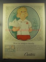 1958 Carter's Topper Set Ad - Snap a Dandy
