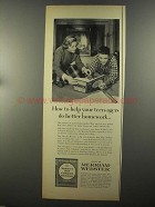 1958 Merriam-Webster New Collegiate Dictionary Ad