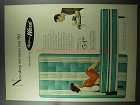 1956 Montgomery Ward Mattress Ad - New Sleep Set