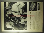 1956 Thomas A. Edison Voicewriter Ad - Key Man in Firm
