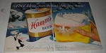1956 Hamm's Beer Ad - Cool Idea from Land of Sky Blue