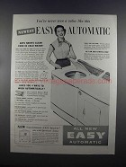 1955 Easy Spiralator Automatic Washer Ad - A Value