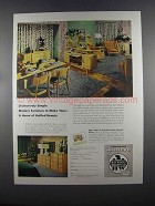 1955 Heywood-Wakefield Home-Planned Modern Furniture Ad