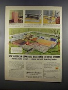 1955 American-Standard Baseboard Heating System Ad