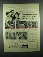 1955 Coleman Blend-Air Conditioning & Water Heater Ad