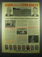 1955 American Agricultural Chemical Agrico Products Ad - Extra Quality
