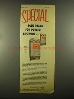 1955 International Minerals & Chemical fertilizers Ad