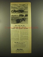 1955 New Idea Spreader Ad - Hit Real Pay Dirt