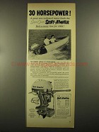 1955 Scott-Atwater 30 HP Bail-A-Matic Outboard Motor Ad