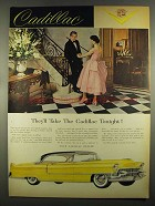 1955 Cadillac Coupe De Ville Ad - They'll Take Tonight