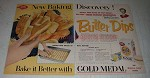1955 Gold Medal Flour Ad - Butter Dips Recipe