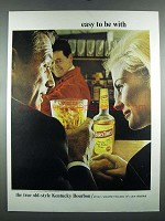 1964 Early Times Bourbon Ad - Easy to Be With