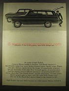 1964 General Motors Opel Kadett 2-Door Sedan & Wagon Ad