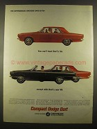 1964 Dodge Dart Ad - You Can't Beat Dart's Six