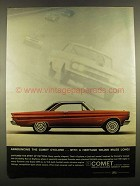 1964 Mercury Comet Cyclone Ad - With a Heritage