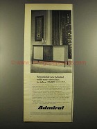 1964 Admiral Kent Y8302 Stereo Ad - Remarkable