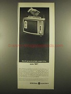 1964 General Electric Personal Portable TV Ad