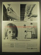 1964 General Electric Mobile Maid SM500Y Dishwasher Ad