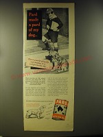 1946 Pard Dog Food Ad - Pard made a pard of my dog