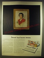 1946 General Mills Ad - Second best known woman