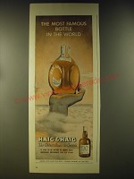 1946 Haig & Haig Scotch Ad - The most famous bottle in the world
