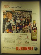 1946 Dubonnet Aperitif Advertisement - art by Stanton Macdonald-Wright