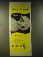 1946 Heublein's Club Cocktails Ad - Out of this world