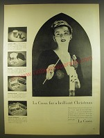 1945 La Cross Nail Polish and accessories Ad - for a brilliant Christmas