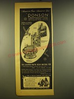 1945 Ronson Lighters Advertisement - Standard, Whirlwind and Crown