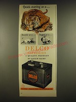 1945 Delco Batteries Ad - Quick-starting as a..
