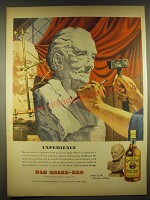 1945 Old Grand Dad Bourbon Advertisement - art by Melbourne Brindle