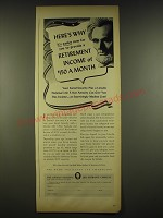 1944 Lincoln National Life Insurance Ad - Here's why it's easier now for you