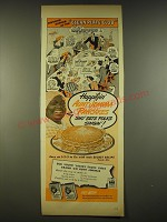 1944 Aunt Jemima Pancakes Ad - Favorite Supper of the Clean Plate Club