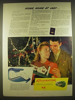 1944 Kelvinator Appliances Ad - Home, Home at last