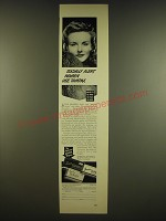 1941 Tampax Tampons Ad - Socially alert women use Tampax