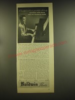 1937 Baldwin Pianos Ad - A beautiful and human friendship will develop