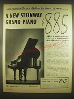 1936 Steinway Grand Piano Ad - The opportunity of a lifetime for lovers