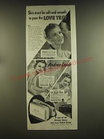 1939 Lux Soap Advertisement - Andrea Leeds - Skin must be soft and smooth